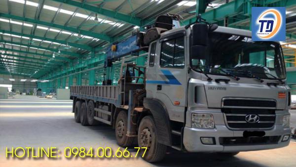 Cho thuê xe cẩu tự hành 15 tấn giá rẻ Hà Nội