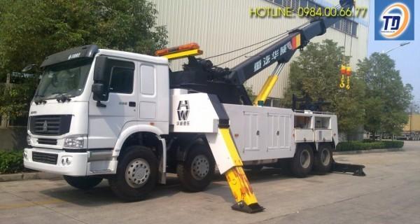 cho thuê xe cẩu chuyên dùng 30 tấn Hà Nội